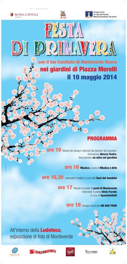 locandina Festa di Primavera 33x70b